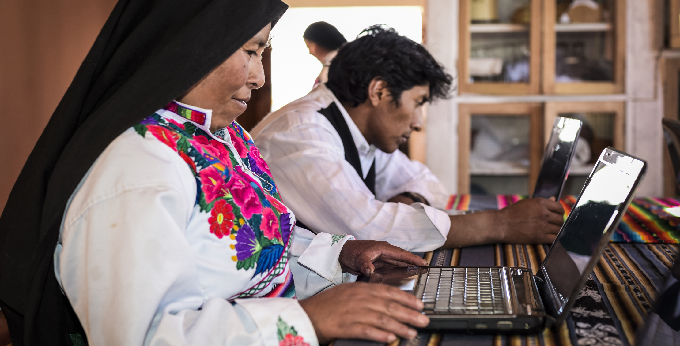 Using ICT to increase the income of woman
